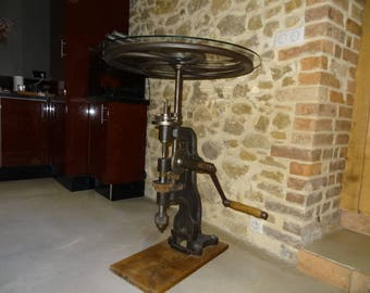 Old drill manual column table