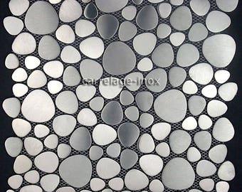 Mosaic Pebble Japanese stainless steel