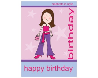 Wise Products - Birthday Card for Teenage Girl
