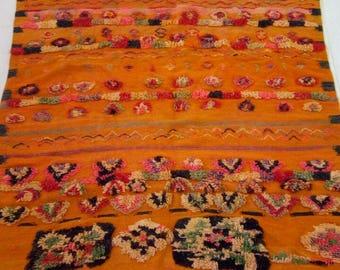 Moroccan vintage  bedding balnket .berber.duvet cover 192-154  cm