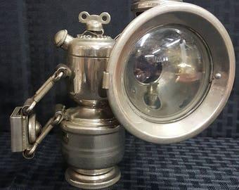 1920's Duoplex Carbide Headlamp