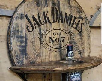 Jack Daniels Whiskey Barrel Head