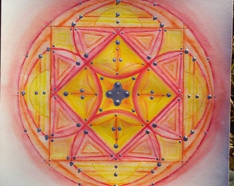 peaceful mandala 7