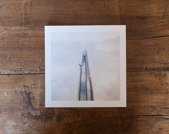 The Shard - Fine art square print