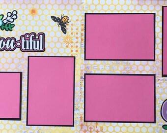 Scrapbooking Kit - Bee-YOU-tiful