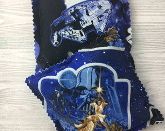 "Kozy Komfort ""Moscato"" Style Rice Heating Pad, Hand Warmer, Ice and Hot Pack, Star Wars Pattern"
