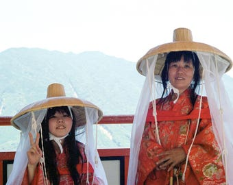 Two Pilgrims - Kumano Kodo