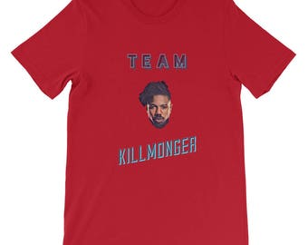 Killmonger Was Right Team Killmonger T-Shirt