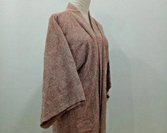 Vintage Kimono Haori , Short Kimono , Japanese Robe , Coverup ,Cardigan