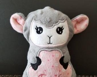 Lamb stuffies 5 x 7
