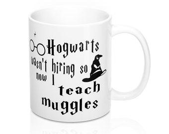 Hogwarts Mug Teacher Muggles