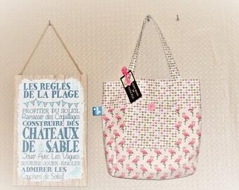 bag tote bag girl Made in France