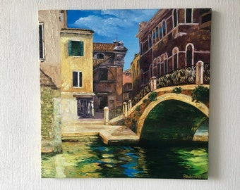 "Oil Painting ""My Venice"""