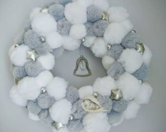 Pompom wreath - Bell