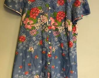 Vintage marks and Spencer floral  house coat