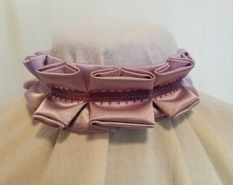 Ruffle Choker - Lavender