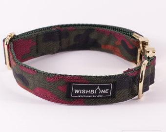 "Handmade dog collar ""Reksas"" 2,5 cm / 1"""