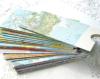 Handmade Envelopes, Business Card Envelopes, Gift Card Envelopes, Map Envelopes