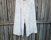 Upcycled Vintage Pillowcase Jammies/Lounge pants --- Woman Small - 2X