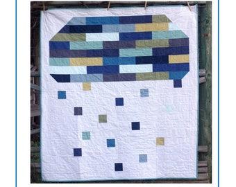 Spring Rain PDF Quilt Pattern
