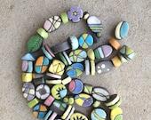 RESERVED, kiln fired raku beads