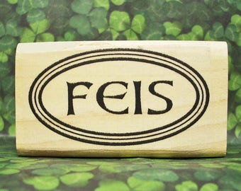 FEIS Rubber Stamp Irish Dance Crafting Scrapbooking Ireland