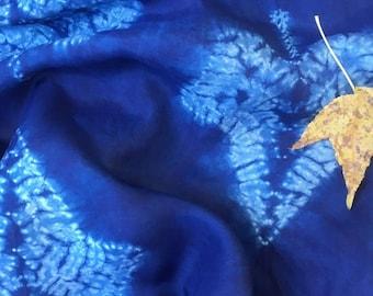 Blue Ivy Silk Scarf