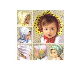 SALE Babies and Toddlers Hats Simplicity 2908 Sewing Pattern Uncut
