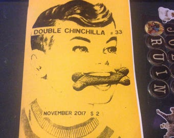 Double Chinchilla Art Zine #33