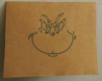 Grinch Greeting Card