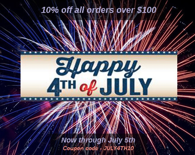 A July 4th 10% Discount