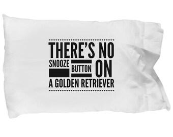 Golden Retriever Pillowcase