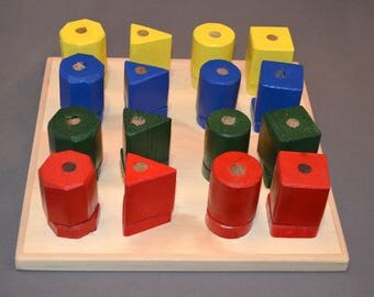 Colorful children's blocks