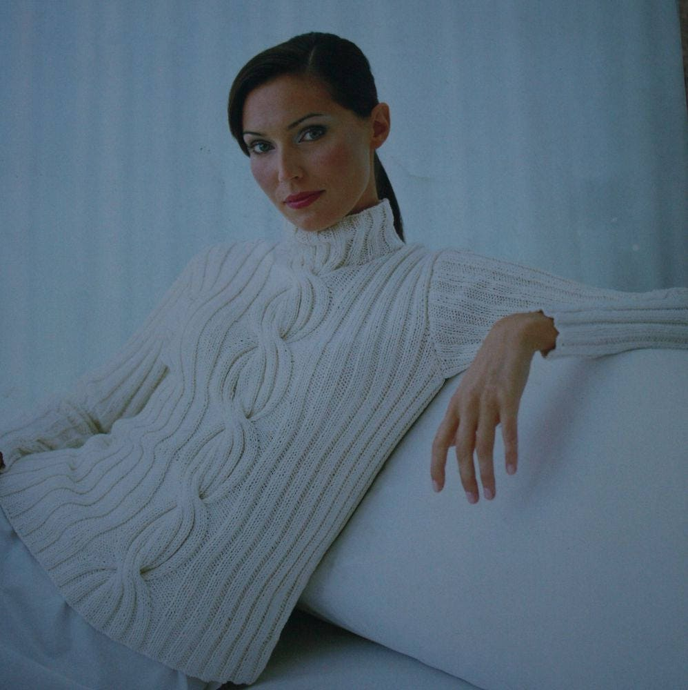 Sweater knitting patterns women cardigan tunic tank top jaeger sold by elanknits bankloansurffo Images