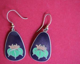VINTAGE Laurel Burch dangle earrings