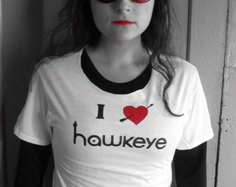 I *heart* Hawkeye Kate Bishop Cosplay T-Shirt