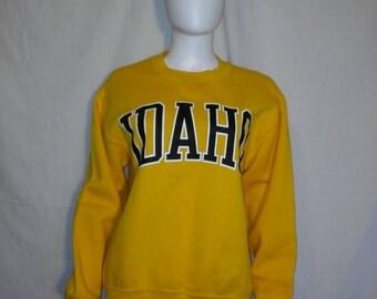 Closing shop SALE 40% off IDAHO State Sweatshirt, College University Sweatshirt, Russell Athletic