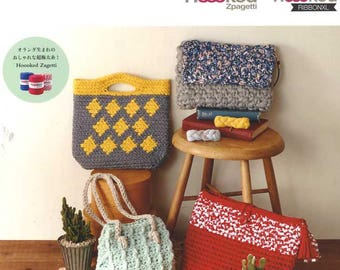 Finish in 3 Days Crochet Items with Hoooked Zpagetti - Japanese Craft Pattern Book