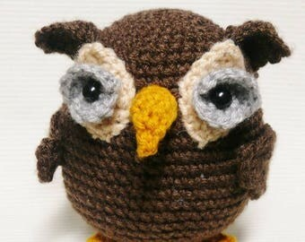 Summer Sale Woodland Owl Crochet Pattern