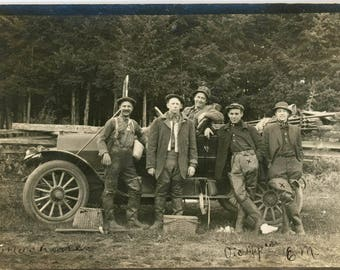 vintage photo 1915 Oregon City Victor Aloysius Meyers Musician Seattle RPPC famous