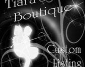 Custom listing for Nasheidy Conde
