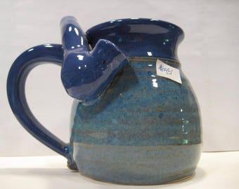 Two Blue's  *  - Wake and Bake Small  Mug....  MUG and a PIPE.... AWESOME !!!  .......  A105