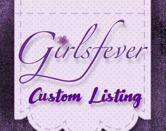 Custom listing for Eboni