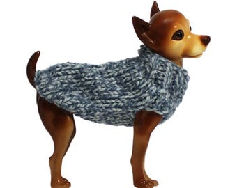 Shades of Blue Dog Sweater