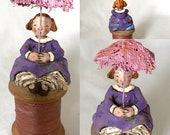 She Can't Find Her Tuffet - USA - OOAK