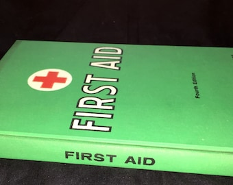 1965 Red Cross First Aid Book