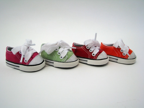 Canvas Sneakers - 18 Inch Doll Shoes