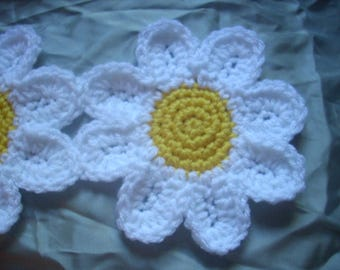 Daisy Flower Scarf Ready Made To Order
