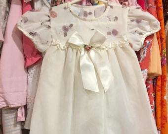 80s Baby Dress 12/18 Months