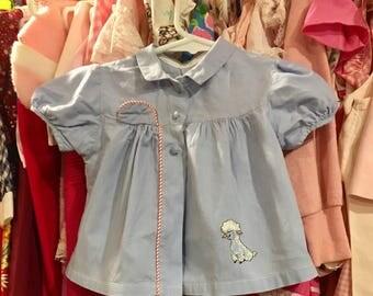 1950s Baby Dress 0/3 Months